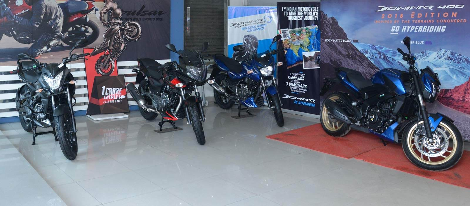 Bajaj Showroom in Annasalai