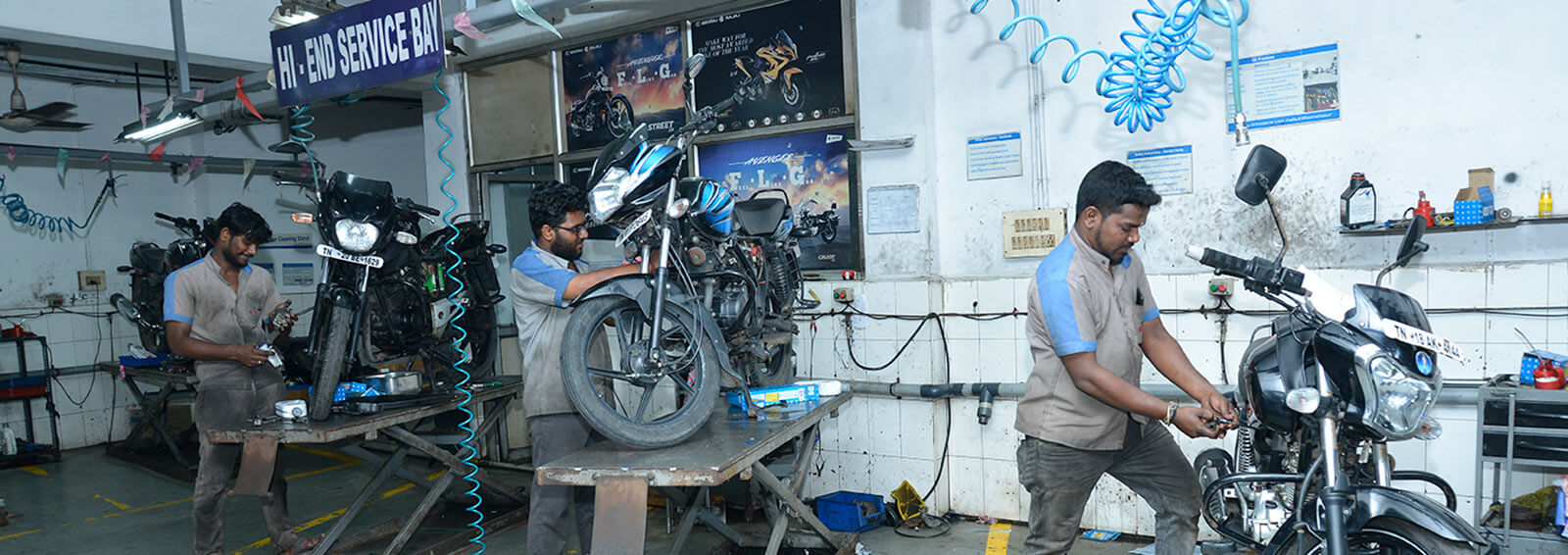 Bajaj Service Center in Chennai
