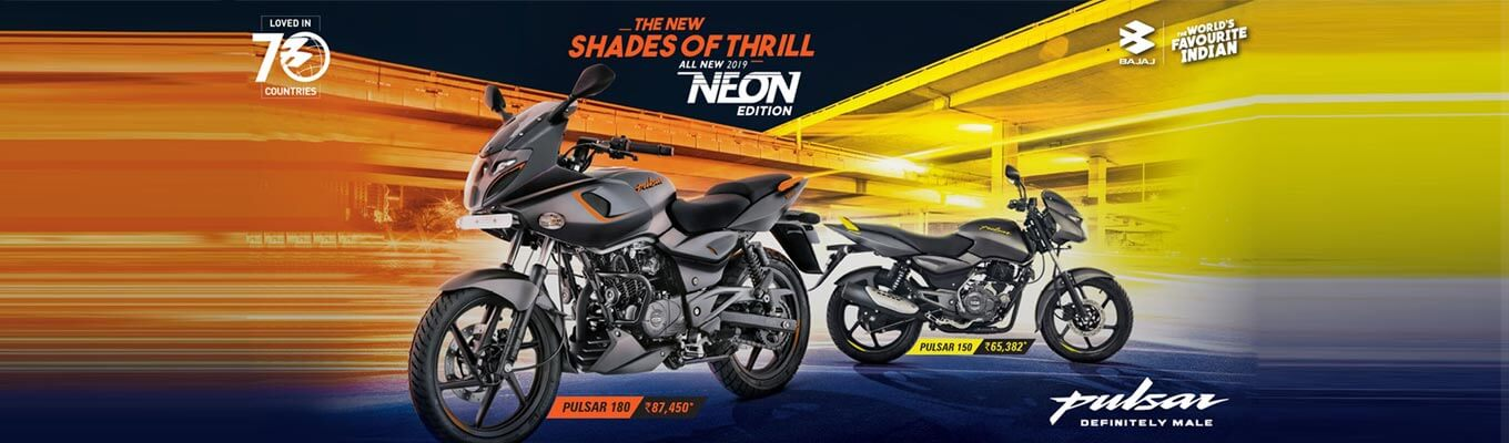 Pulsar 150 Neon ABS Price in Chennai