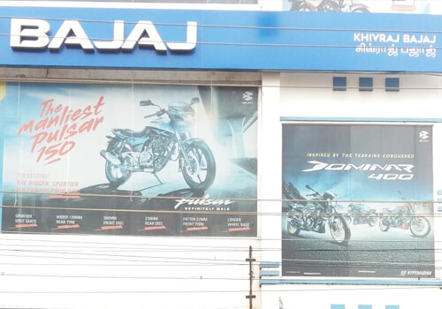 Bajaj Showroom in Chennai